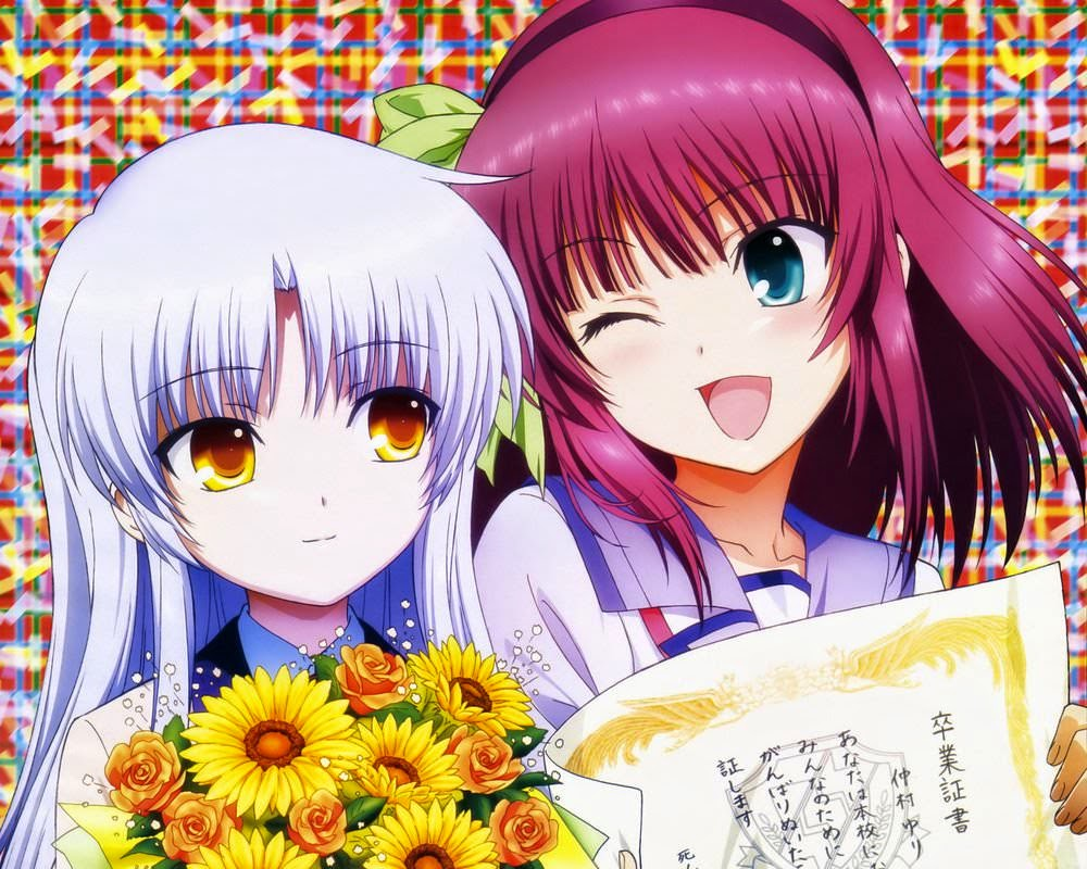 Angel Beats Yuri and Kanade