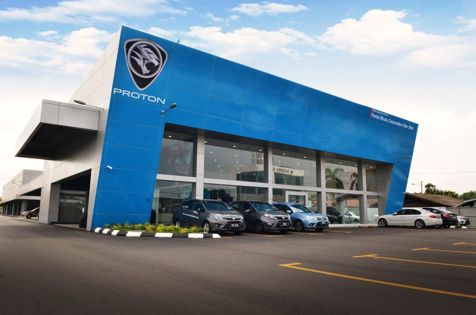 Motoring Malaysia Pantai Bharu Corporation Opens Its New Proton 3s