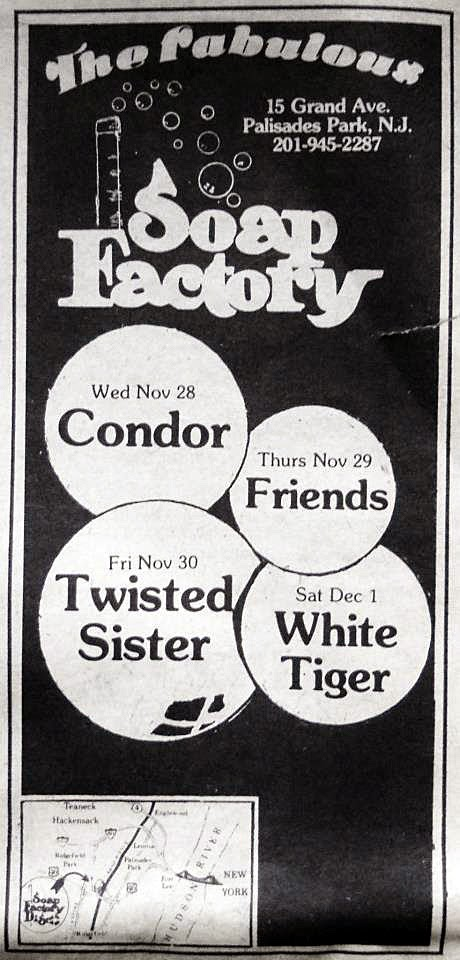 The Soap Factory band line up