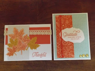 CTMH Cards For Fall