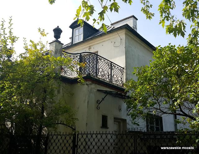 Warszawa Warsaw Sadyba Mokotów domy oficerskie wille architektura