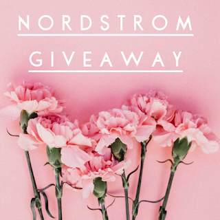 Enter the April Nordstrom Insta Giveaway. Ends 5/11. Open WW