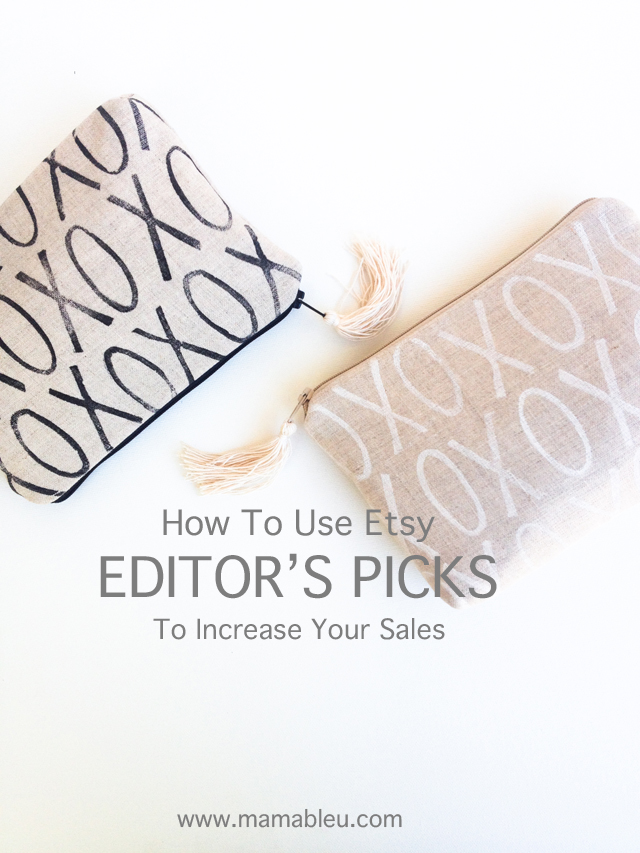 How to use Etsy Editor's Picks to increase your shop sales