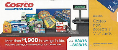 Current Costco Coupon August 2016
