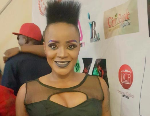 Actrss Uche Ogbodo: Why I'm rocking mohawk haircut