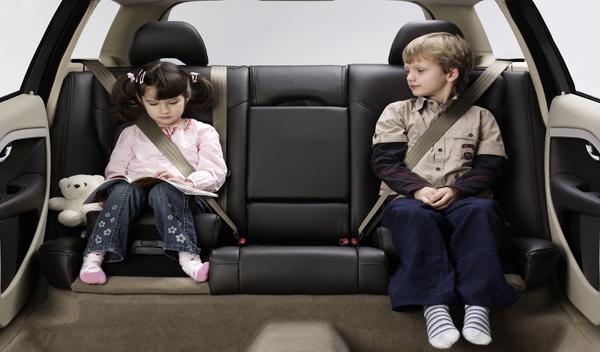El asiento para niños