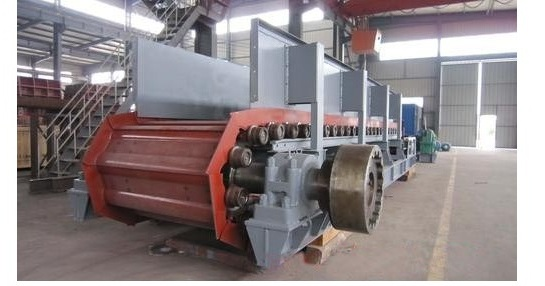 Brick making machine: Plate feeder for auto brick production