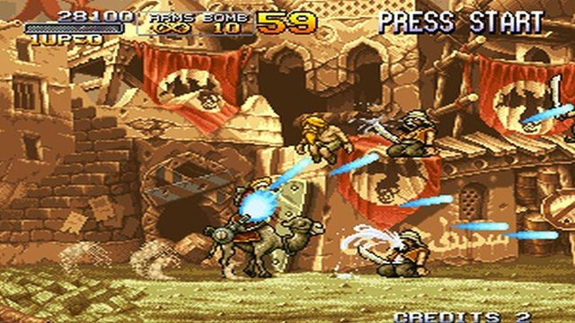 Download Metal Slug 2 PC Games Gameplay