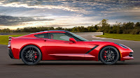 The 2014 Chevrolet Corvette Stingray side
