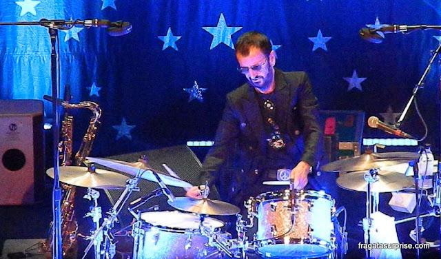 Show de Ringo Starr no Rio de Janeiro, fevereiro de 2015