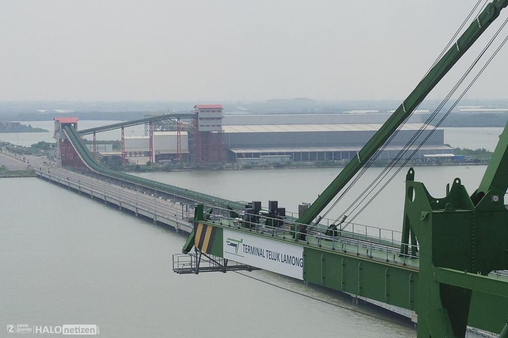 Conveyor Curah Kering Teluk Lamong