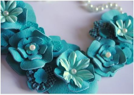 How To Make 3d Leather Flowers For Jewelry And Accessories