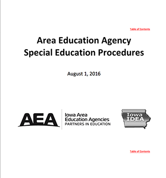The Connection: Reminder: Updated Statewide AEA Special