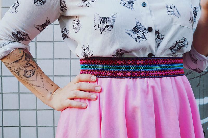 KuneCoco • DIY your closet • Tellerrock • Color Elastics von Prym