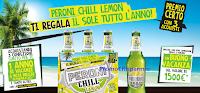 Logo Con Peroni Chill Lemon premio sicuro card ''Lungo svago 2x1'' e vinci 3 voucher vacanza da 1.500 euro