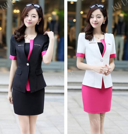 contoh model baju dinas