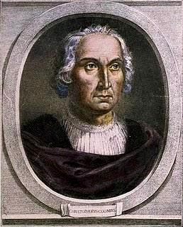 Imagen de Cristobal Colón en retrato