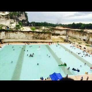 Kolam Renang Bukit Kapur Desa Jaddih Kecamatan Socah Bangkalan