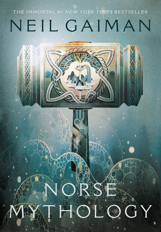 Book cover for Neil Gaiman's Norse Mythology in the South Manchester, Chorlton, and Didsbury book group