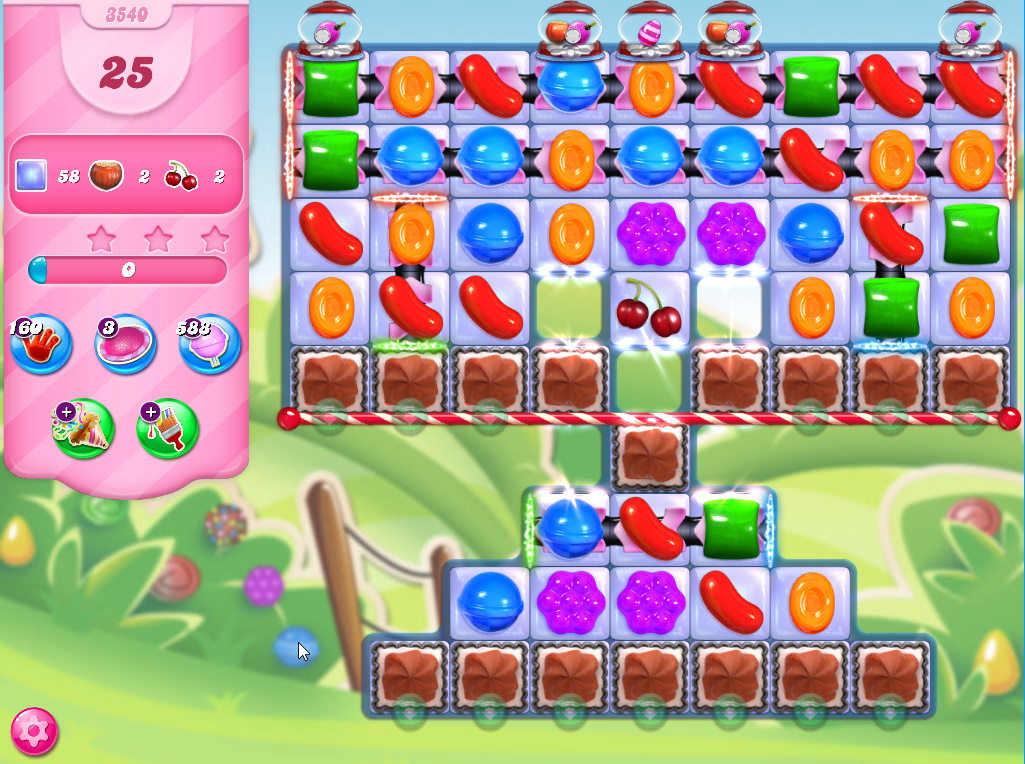 Candy Crush Saga level 3540
