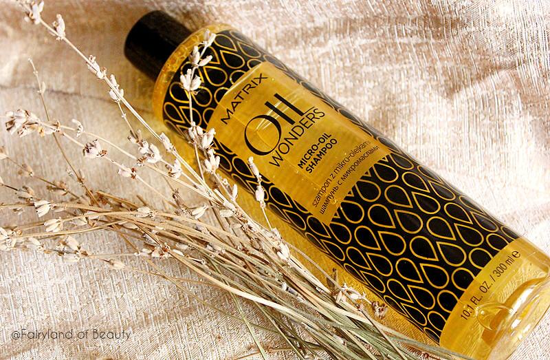 Отзыв: Легкий шампунь с микро-каплями масла Matrix Oil Wonders Micro-Oil Shampoo.