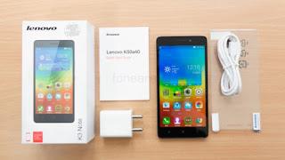 Spesifikasi Lenovo K3 Note dan Harga Terbaru