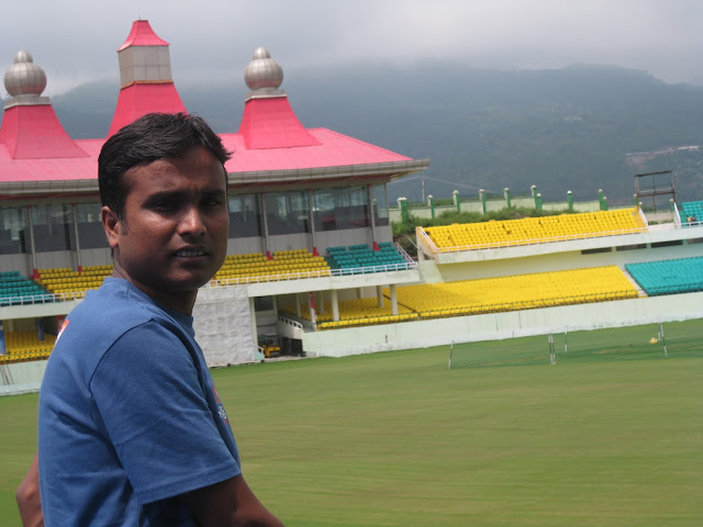 pradeep in HPCA stadium