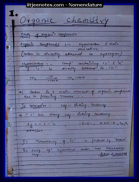 Nomenclature1