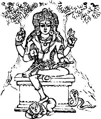 learn how to draw hindu gods easy