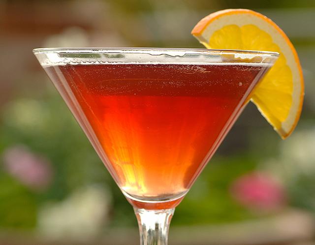 Coctel Pine Berry con tequila