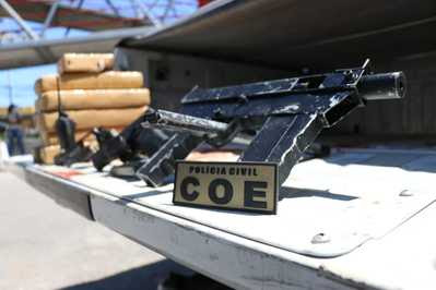 SALVADOR: COE apreende segunda metralhadora em menos de doze horas