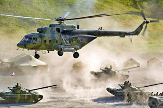 Latihan Perang Rusia