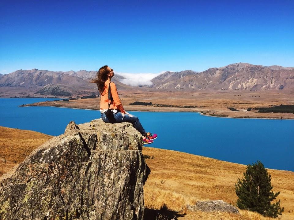 Озера и горы Новой Зеландии