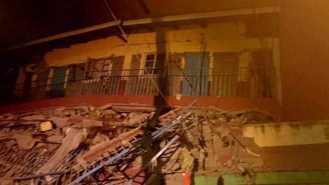 Building collapses in Kenyan capital Nairobi