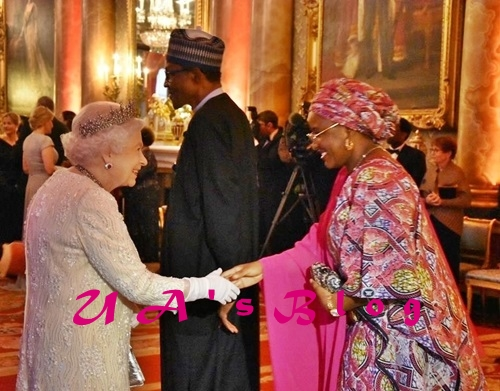 Dinning With Royals: President Buhari And Wife, Aisha Hosted To Lavish Dinner By The British Queen (Photos)