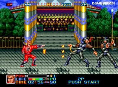 Ninja Combat (Neogeo) - Download Game PS1 PSP Roms Isos ...