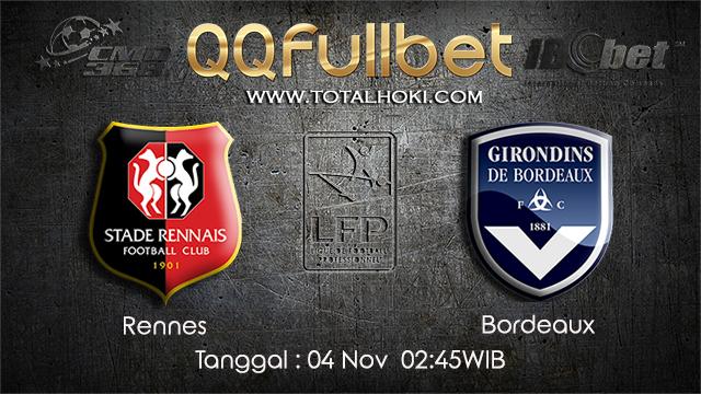 PREDIKSIBOLA - PREDIKSI TARUHAN BOLA RENNES VS BORDEAUX 4 NOVEMBER 2017 (Ligue 1)