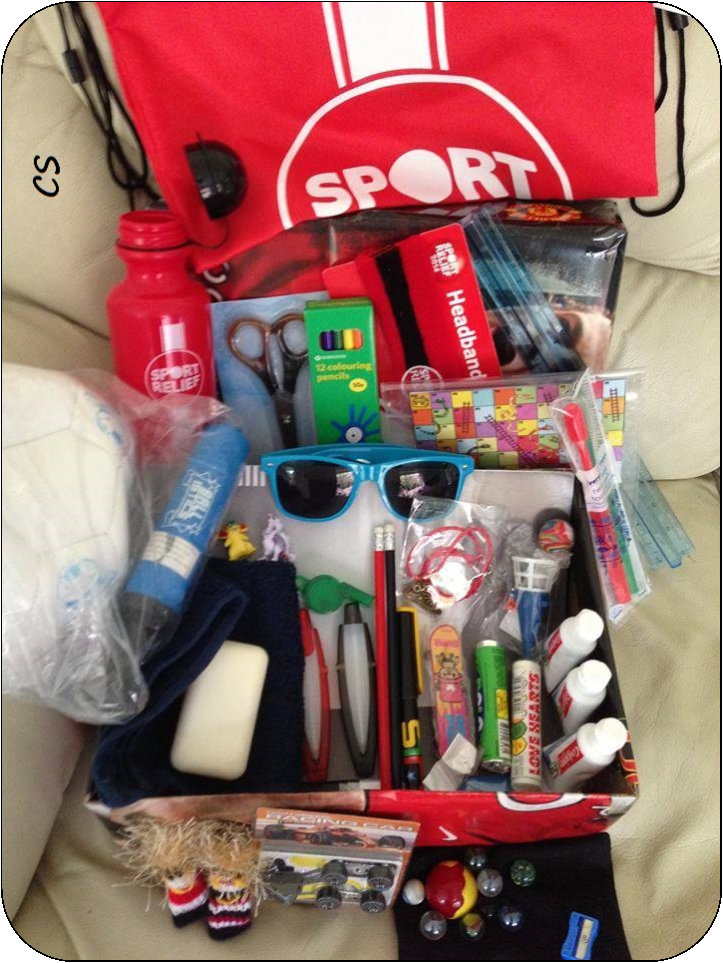 Christmas Shoe Box Appeal Ideas.Crafting For Shoeboxes Shoebox Ideas For Boys Aged 10 14