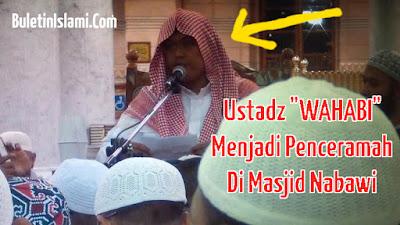 Pengisi Ceramah Berbahasa Indonesia di Masjid Nabawi Selama Musim Haji