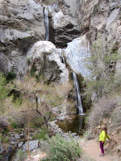 Fish Canyon Falls, Angeles National Forest, March 22, 2014