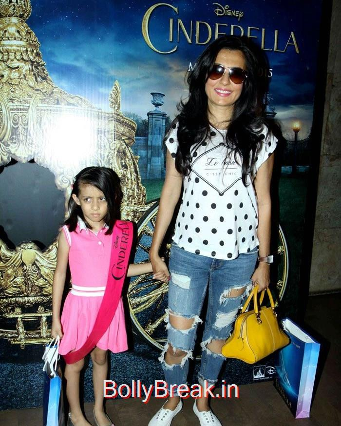 Mini Mathur, Mini Mathur, Madhurima Nigam Hot Pics At Film 'Cinderella' Special Screening
