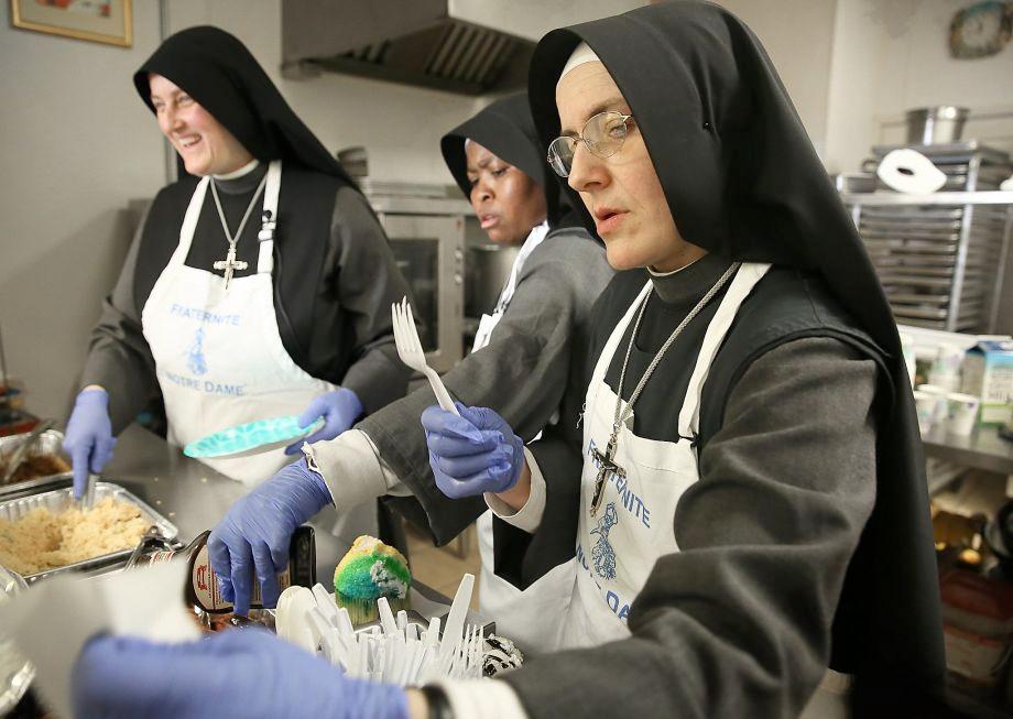 Soup Kitchen Run By Nuns