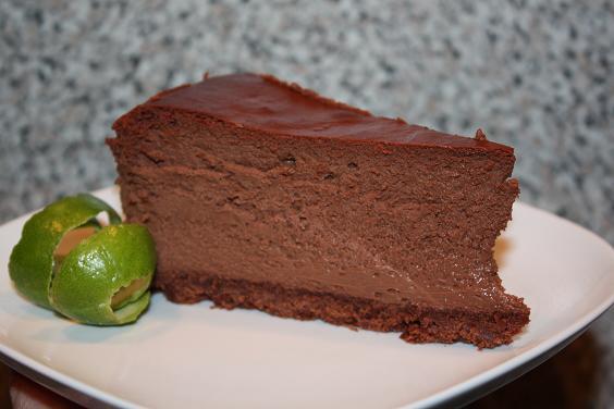 Dies Und Das Und Susse Sachen Schokoladen Kase Torte Nach Donna Hay