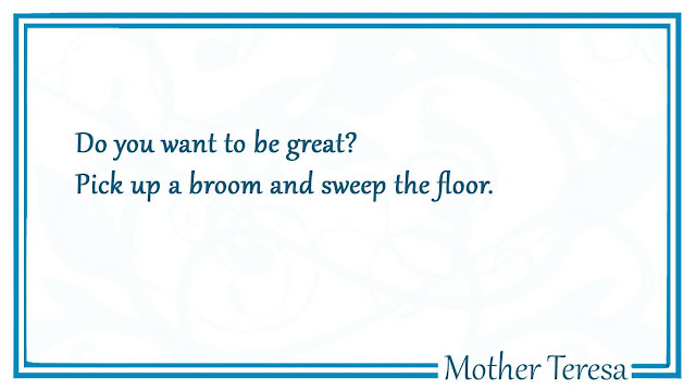 Do you want to be great Mother Teresa quotes