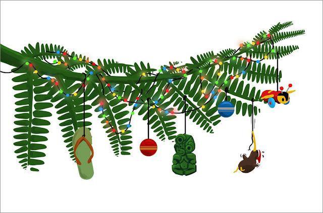 Merry Kiwi Christmas