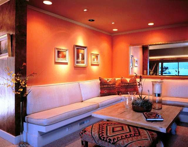 Best Art For Living Room: Best Paint Color For Accent Wall In Living Room