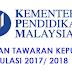 Semakan Tawaran Keputusan Matrikulasi Sesi 2017/ 2018 Online