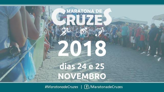 Maratona de Cruzes 2018: dias 24 e 25 de novembro