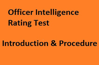 Officer Intelligence Rating Test in SSB: Process and Introduction