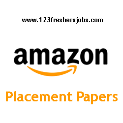Amazon Placement Papers 2016